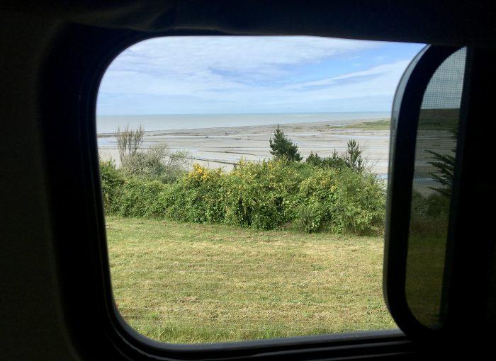 Aussicht auf Strand
