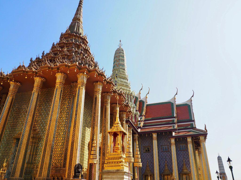 Verzierte Tempel