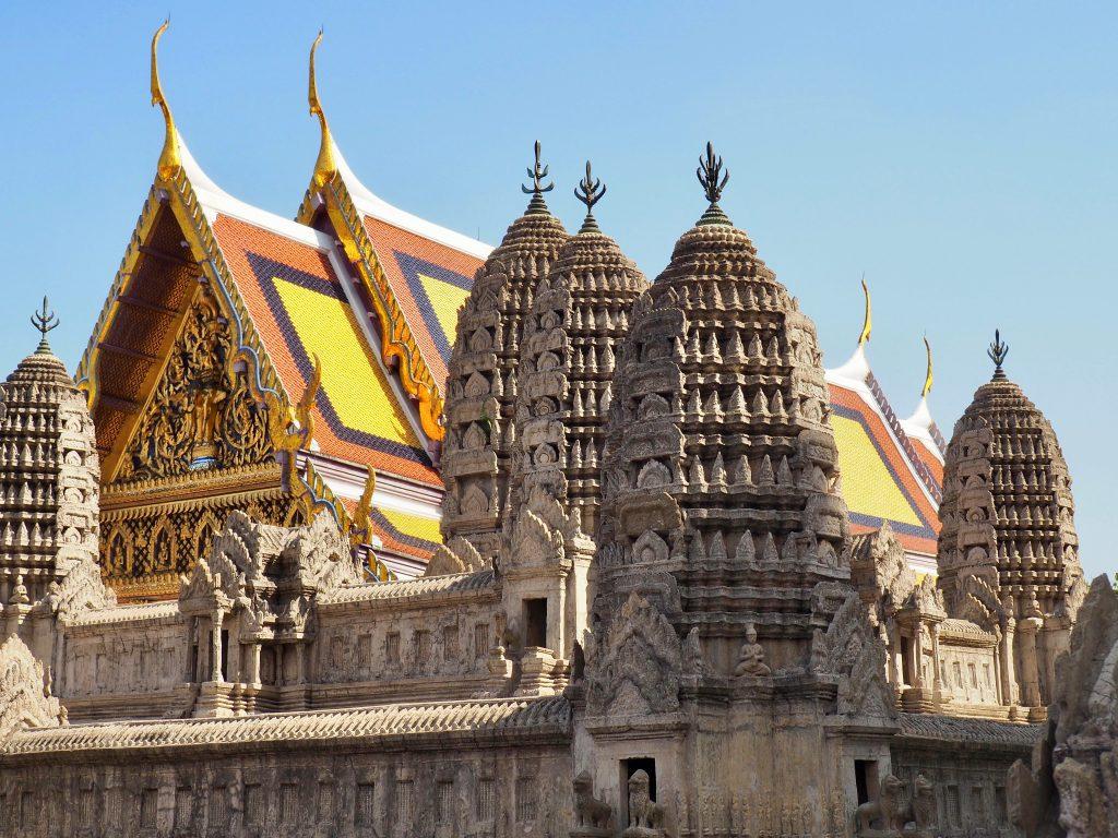 Tempel am Palast.