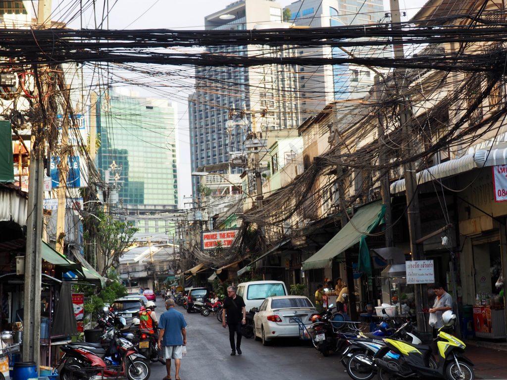 Straßenecke in Bangkok